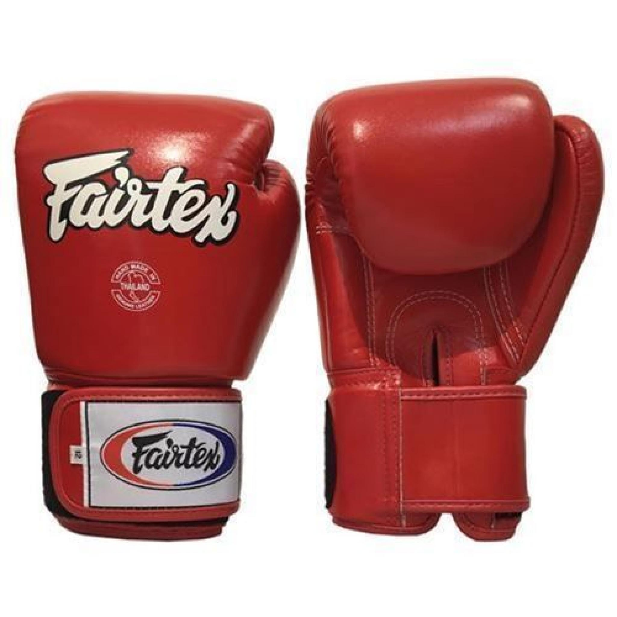 Fairtex BGV1 3-Tone Boxing Gloves White