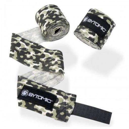 Bytomic Stretch Hand Wraps 4m - City Camo