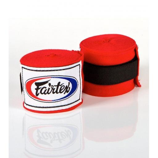 Fairtex Hand Wraps 4.5m - Red