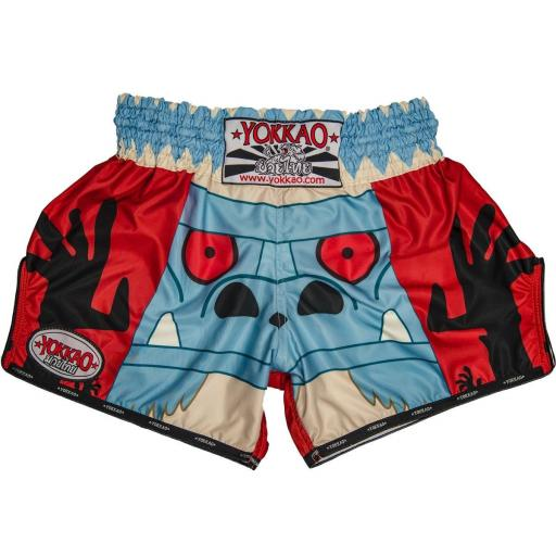"Yokkao Muay Thai Shorts - Carbonfit ""Monster"""