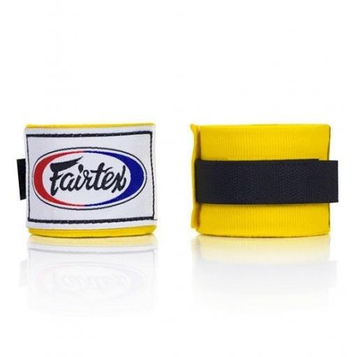 Fairtex Hand Wraps 4.5m - Yellow