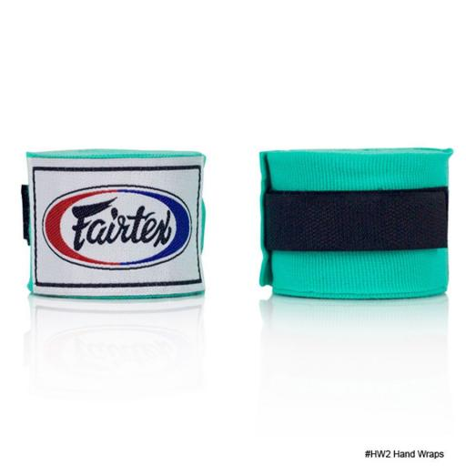 Fairtex Hand Wraps 4.5m - Mint Green