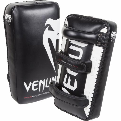 Venum Giant Thai Pads - Black & White
