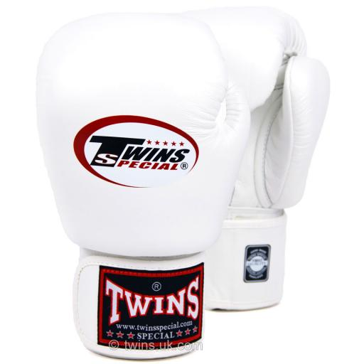 Twins Special Muay Thai Gloves - White (BGVL3)