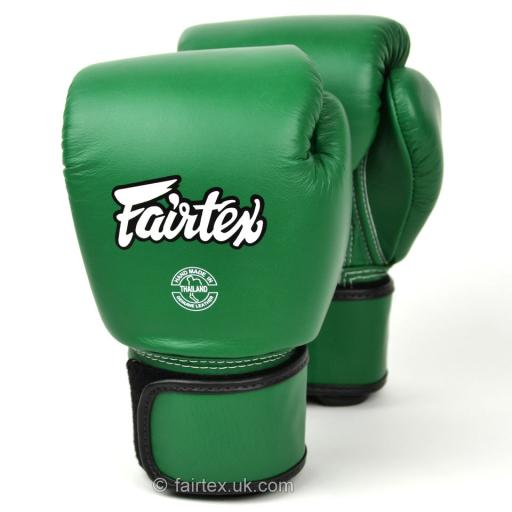 Fairtex Muay Thai Gloves - Forest Green (BGV16)