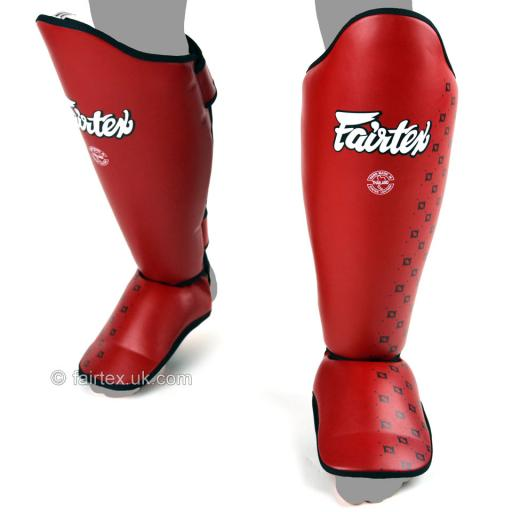 Fairtex Shin Pads Red (SP5)