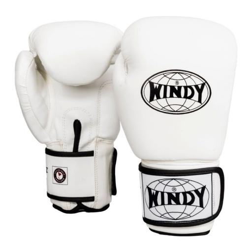 Windy Classic Boxing Gloves - White