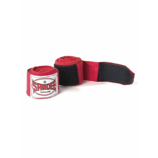 Sandee Red Hand Wraps - 5m