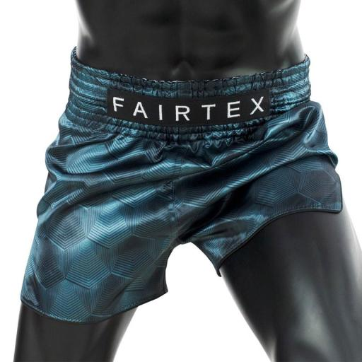 Fairtex Muay Thai Shorts - Stealth Green