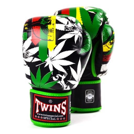 Twins Limited Edition Muay Thai Gloves -Grass (FBGVL3-54)