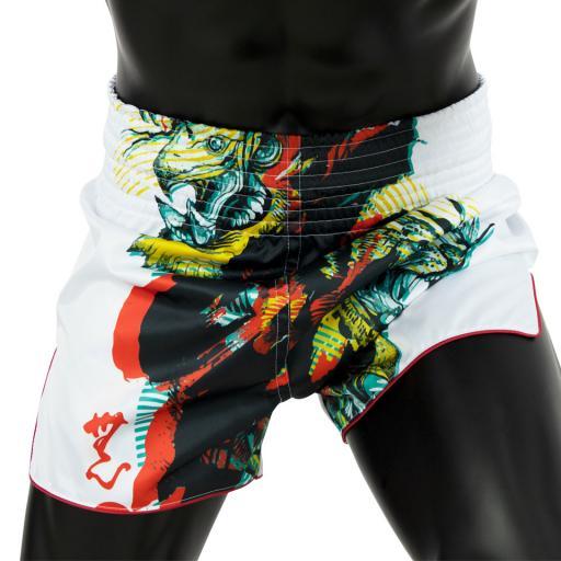 Fairtex Muay Thai Shorts - Satoru White