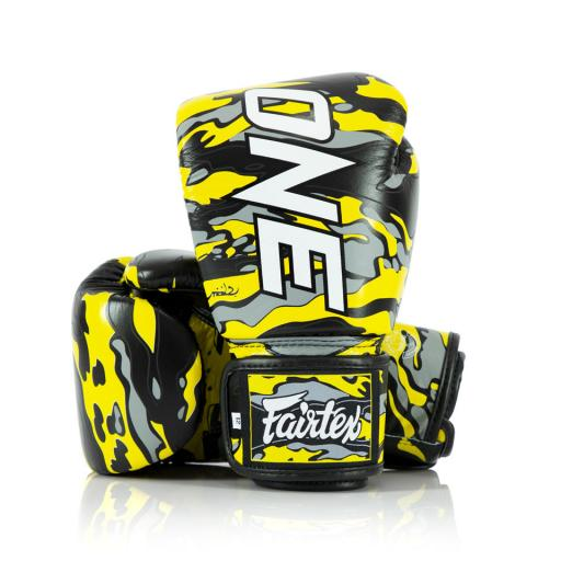 Fairtex Muay Thai Gloves - One X Mr Sabotage
