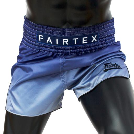 Fairtex Muay Thai Shorts - Fade Blue