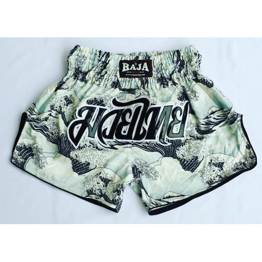 Raja Muay Thai Shorts - Waves