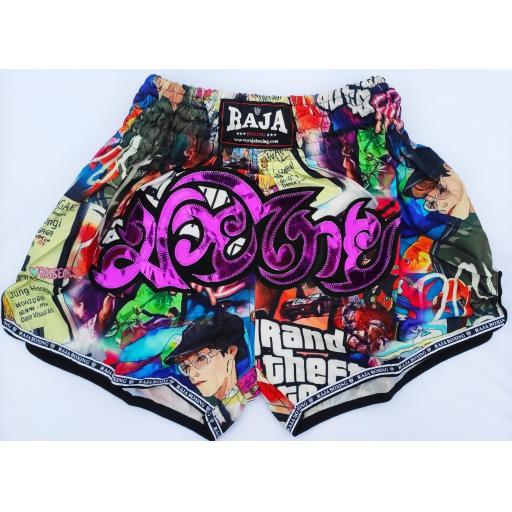 Raja Muay Thai Shorts - GTA